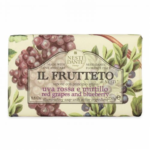 Nesti Dante Soap - Il Frutteto - Red Grapes & Blueberry